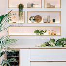 Une cuisine esthétique en longueur