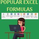 101 Most Popular Excel Formulas E Book $10 OFF