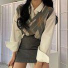 Girl casual wear inspire stylish christmas 2021 cute japanse fashion tiktok school