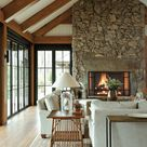A North Georgia Retreat Offers Jaw-Dropping Lake Views - Luxe Interiors + Design