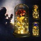 MagicPrincessWhitney Life Sized Beauty and the Beast Rose   Etsy