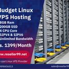 Budget Linux VPS Hosting Provider - 8GB Ram - 200GB SSD - 4 CPU Core - 1IPV4 & 1IPV6 - Unlimited Bandwidth Starting Rs. 1399/Month www.reseller99.net/detail/319758/budget-linux-vps-hosting-india