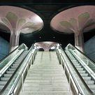 Die Schönheit verlassener U Bahnhöfe