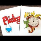Project Heading Ideas | Heading Designs | Creative Heading and Title | Biology | History