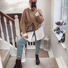 15 осенних образов с джинсами, чтобы выглядеть сногсшибательно
