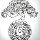 Celtic tree by chaotic-rainbow on DeviantArt