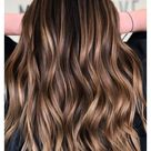 hair color ideas for brunettes with highlights caramel