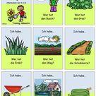 Lesespiel 1 _ Garten und Gartengeräte _ Ich habe...Wer hat...? (Set 1+2)