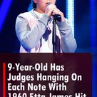 9-Year-Old Has Judges Hanging On Each Note With 1960 Etta James Hit