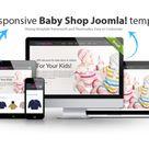 LT Baby Shop Jomla template by LTheme on Creative Market