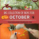 October Theme Ideas