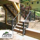 Aspen Aluminum Stair Rail Kit - Color Guard Railing