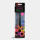 Family Pack Brush Set Black - 3 Pack
