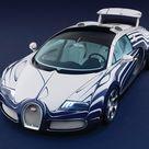 Bugatti Veyron Grand Sport LOr Blanc 2011 Poster. ID11578