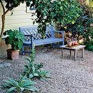Pea Gravel Garden
