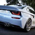 BMW 2002 Hommage Concept Reimagined As An Open-Top | Carscoops