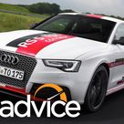 Audi RS5 TDI Concept Track lapping an electric turbo sports coupe