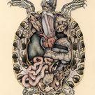 Juxtapoz Magazine   Katy Wiedemann's Hybrid Anatomies