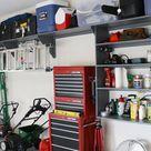 Garage Organization and Storage Project