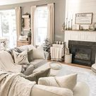 Finally a clean house ? it never looks like that in the family room. It's w… – 2019 - Curtains Diy