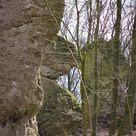 Die Ruinen und Felsen im und ums Trubachtal