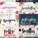 Hand Fonts