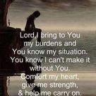 Cast Your Burdens