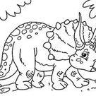 Desenhos de dinossauro para colorir | Como fazer em casa