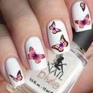 Acrylnägel Sommer 2020: Butterfly Nails sind der letzte Hit!