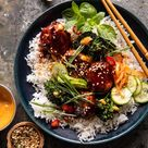 """Tieghan Gerard on Instagram """"Sheet Pan Sticky Gochujang Chicken Meatballs. you know my brother is in town when meatballs make yet another appearance. but I've got to…"""""""