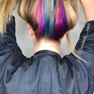 29 Photos of Rainbow Hair Ideas to Consider for 2021