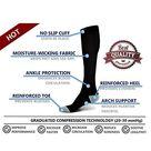 Travel Compression Socks for Women & Men, 20-30 mmHg, Graduated Compression for Flight Travel