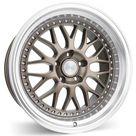 ESR SR01 Matte Bronze w/ Machined Lip   5X114.3 / 17 Inch / 17X8.5 ET30 5X114.3 CB73.1