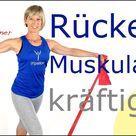 📌40 min. Rückenmuskulatur kräftigen mit dem Gymnastik-Band