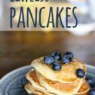 Eiweiß Pancakes Rezept - Pfannkuchen mit Eiweißpulver / Whey mit Banane