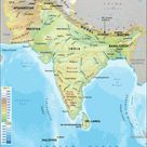 South Asia Physical Map, South Asia Geography
