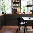 Offene & geschlossene Küchenregale Ideen