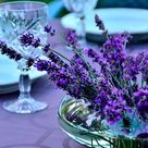 How to Create a Centerpiece Using Lavender