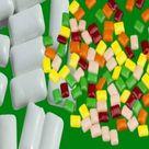 السعرات الحرارية في اللبان وكمية الطاقة التي يحرقها مضغه دايت كلينيك Gum Gaming Logos