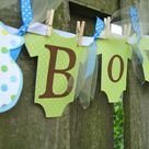 Clothesline Baby Showers