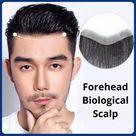 Hairline Toupee-100% HUMAN HAIR