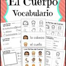 Spanish Vocabulary Resources