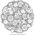 Vector kleurboek voor volwassenen, voor meditatie stockvector (rechtenvrij) 645032518