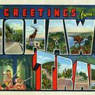 Greetings from Mohawk Trail - Large Letter Postcard