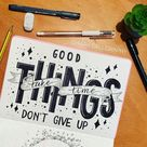 Bullet Journal Quotes: 21 Bullet Journal Quote Page Ideas 2021