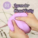 DIY Lavender Cloud Putty 🌈
