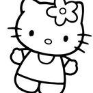 Fantastisch Malvorlagen Von Hallo Kitty  Zum Herunterladen Und Drucken