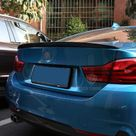 BMW 4 Series/M4 F32/F33/F36 M Performance Style Carbon Fibre Rear Spoiler   F33 4 Series Convertible