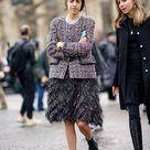 Comment porter le tweed en automne/hiver 2020 ?