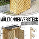 Mülltonnen-Box selber bauen